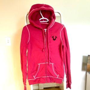True Religion zip up hoodie